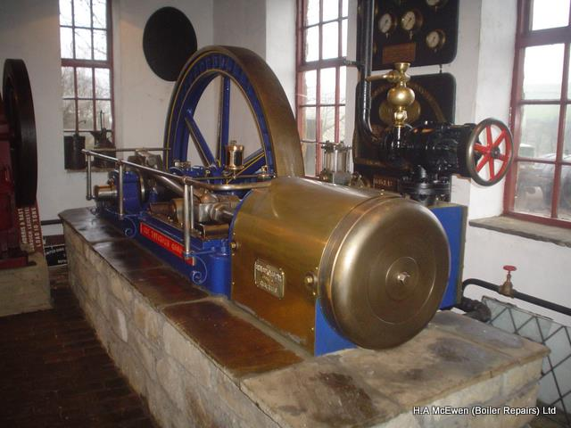 Circa 1880 bryan donkin stationary steam engine for Stationary motors for sale