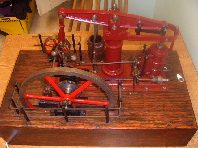M.e. Beam engine.