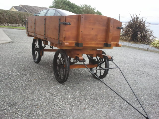 4 inch scale burrell type wagon .