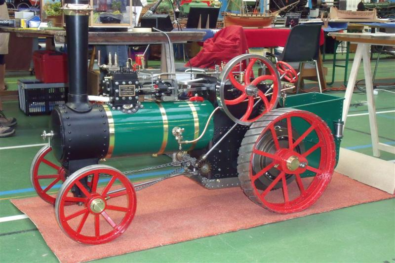 4inch little samson traction engine. - Full size Images