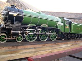 A3 flying scotsman 5 inch gauge live steam.  : Click image for fullsize