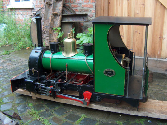 5in narrow gauge hunslet well tank loco for Narrow windows for sale
