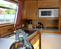 The Heart Of England 2  Canal Boat Interior