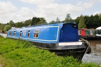 The Devon Maid  Canal Boat Exterior
