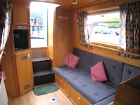 The Devon Maid  Canal Boat Interior
