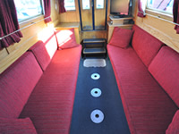 The Cymbeline  Canal Boat Interior