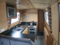 The Sun Conure  Canal Boat Interior