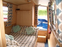 The Aztec Conure  Canal Boat Interior