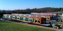 The Emerald Dove  Canal Boat Exterior