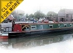 The Osprey Eagle canal boat