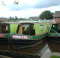 The Ginger3a class canal boat
