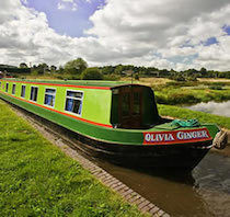 The Ginger6a class canal boat
