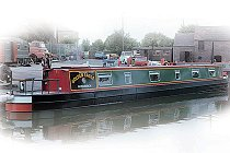 The Yellow Legged Gull canal boat.  This boat is a Gull boat class
