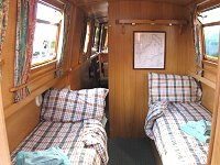 The Purple Heron  Canal Boat Interior