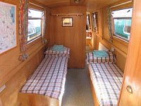 The Meadow Lark  Canal Boat Interior