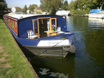 The MRC-Geanna class canal boat