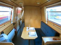 The Oscar  Canal Boat Interior