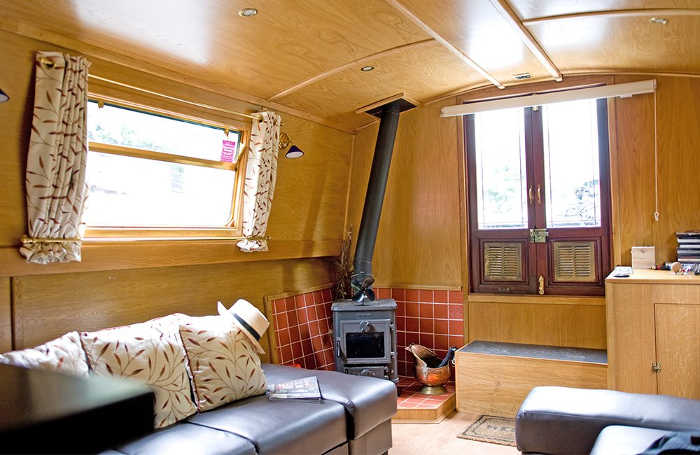 The Pendragon class canal boat