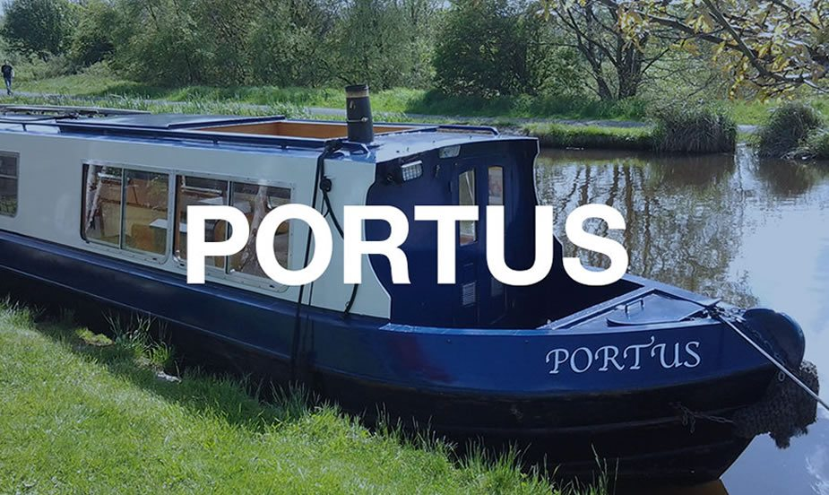 The Portus class of canal boat