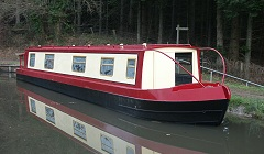 The Red Swallow canal boat class