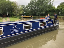 The S-Georgia class canal boat