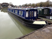 The S-Hannah class canal boat