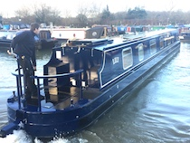The S-Lily class canal boat