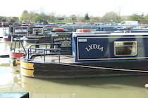 The S-Lydia class canal boat