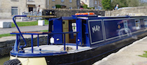 The S-May class canal boat