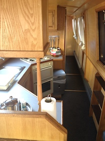 The S-Rachel class canal boat