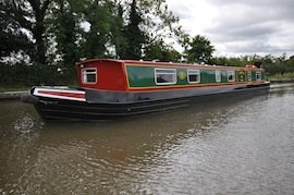 The Sanderling class of canal boat