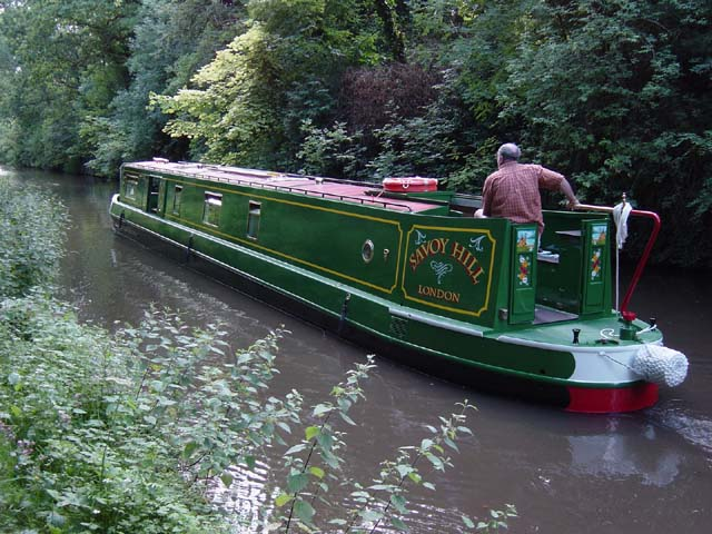The Savoy class canal boat