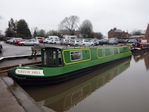 The SavoyV class canal boat