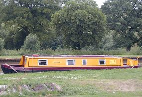 The Grith  Canal Boat Exterior