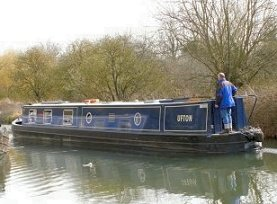 The Ufton canal boat class