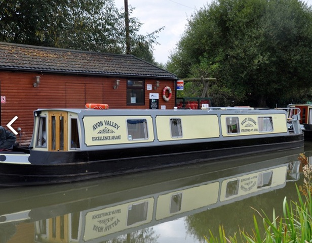 The V-Avon class canal boat