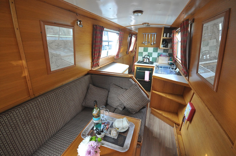 The V-Blythe class canal boat