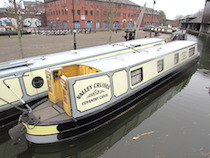 The V-Dee class canal boat