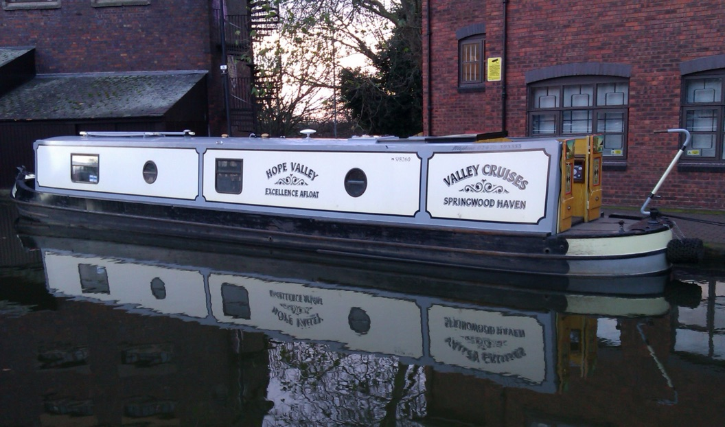 The V-Hope class canal boat