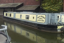 The V-Otter class canal boat