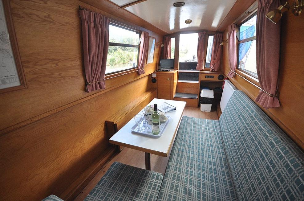 The V-Tamar class canal boat
