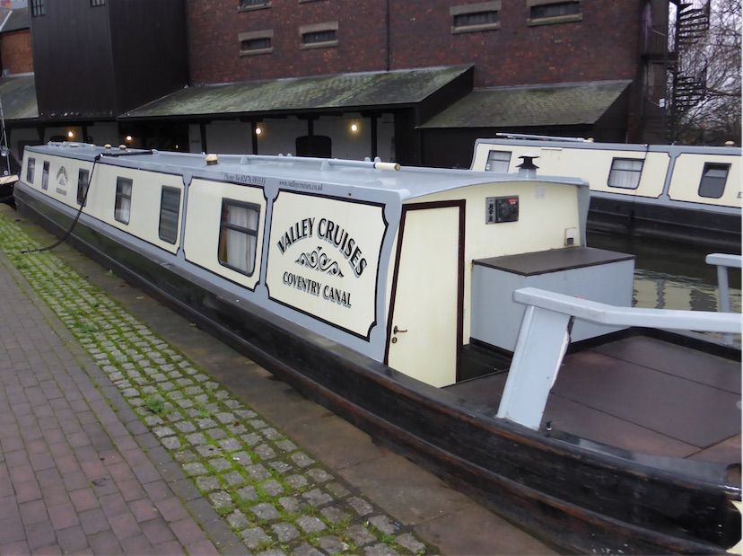 The V-Weaver class canal boat