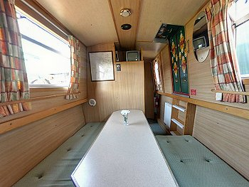The Yellow Wagtail  Canal Boat Interior