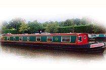 The Dartford Warbler canal boat.  This boat is a Warbler boat class