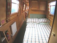 The Aquatic Warbler  Canal Boat Interior