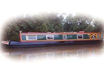 The Brown Weaver  Canal Boat Exterior