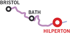 The Bath and Return Cruising Route