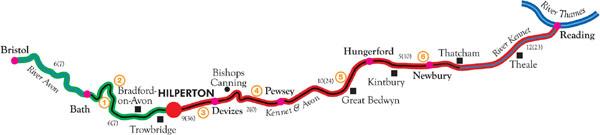 Hilperton Cruising Routes