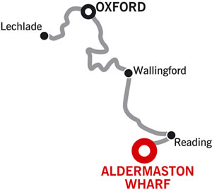 Lechlade & return Crusing Route Map