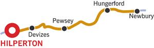 The Newbury and Return Cruising Route